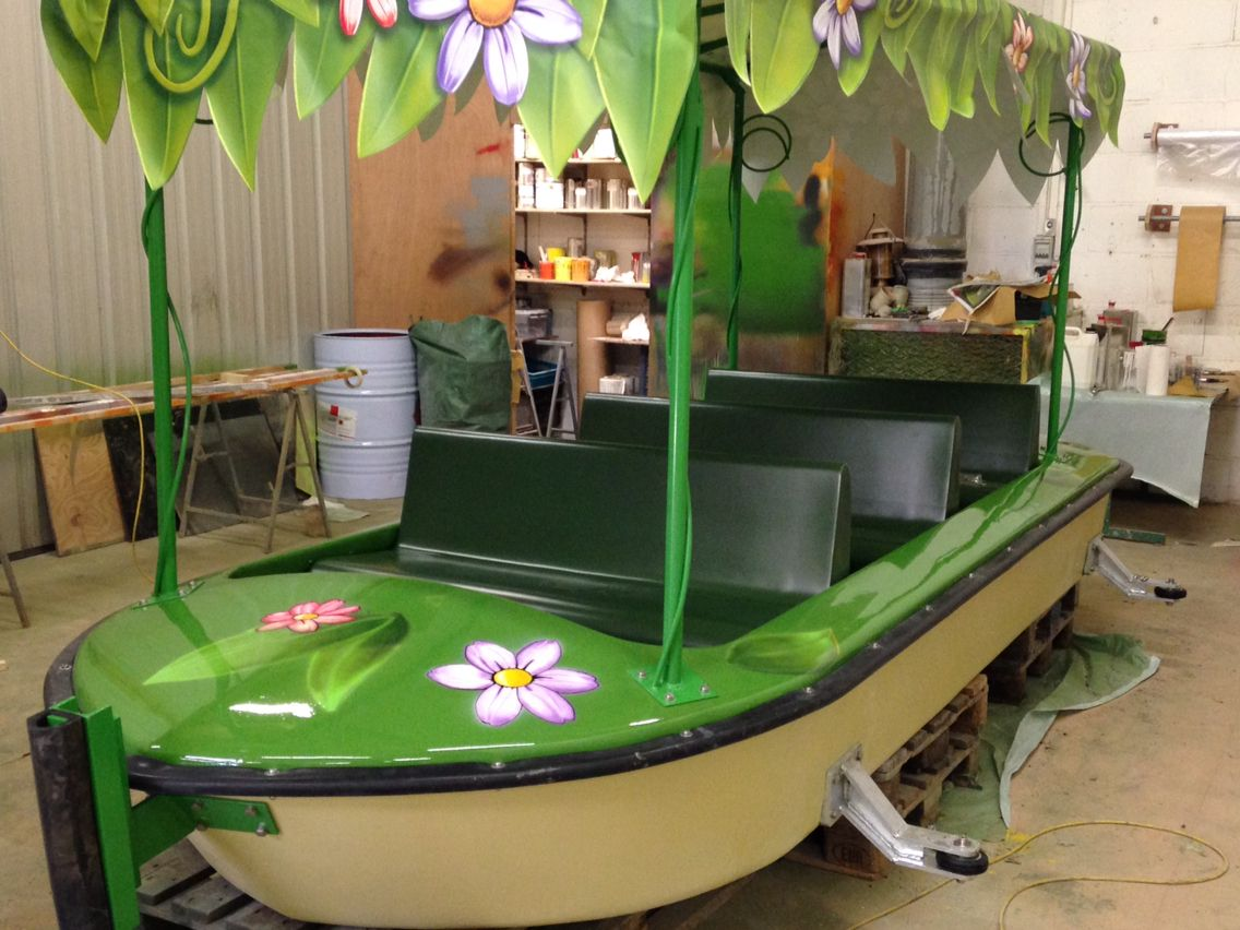 Themed boat