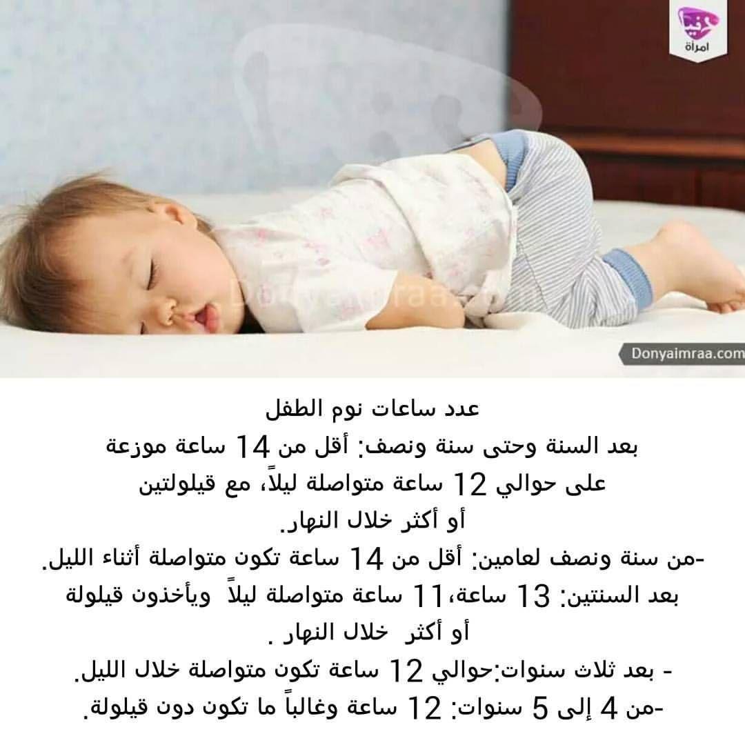طفلك هو مركز إهتمامك وتساؤلك عن عدد ساعات نوم الطفل بعد السنة يدل على رعايتك له ورغبتك في تنظيم حياتكما لذا Baby Education Kids And Parenting Parenting