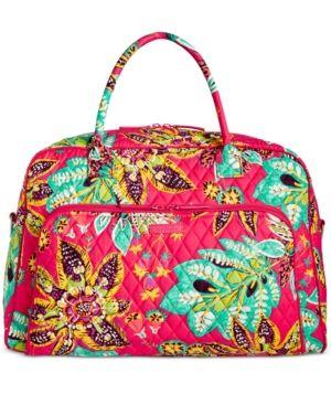 27dd8e1f88a4 Vera Bradley Signature Weekender Travel Bag 2.0 -