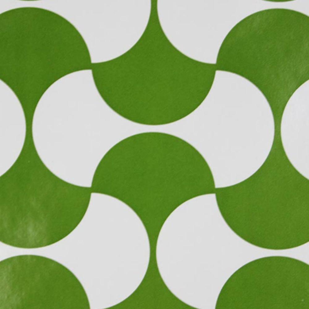 Details about Geometric Minimalist GREEN Dillyan Vintage ...