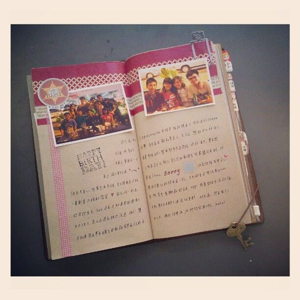 Travel journal ideas and inspiration. Techniques for keeping an art journal, scrapbook, or sketchbook. I love the midori traveler's notebook pages