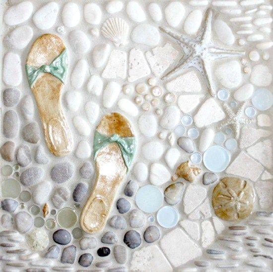 Beach Tile Art - A Splash of Beach Themed Tiles