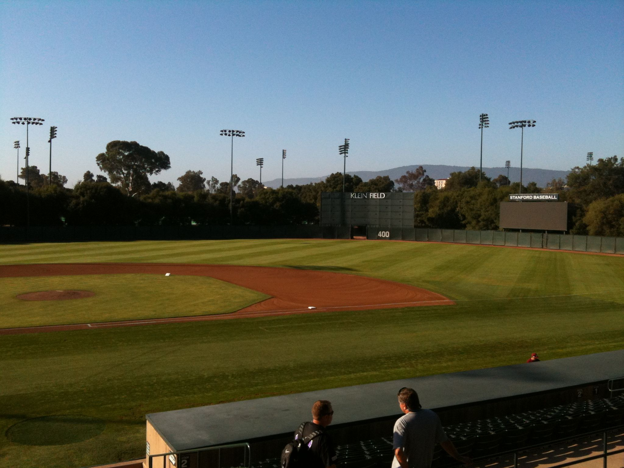 Sunken Diamond On The Beautiful Campus Of Stanford University Baseball Park Traverse City Baseball Field