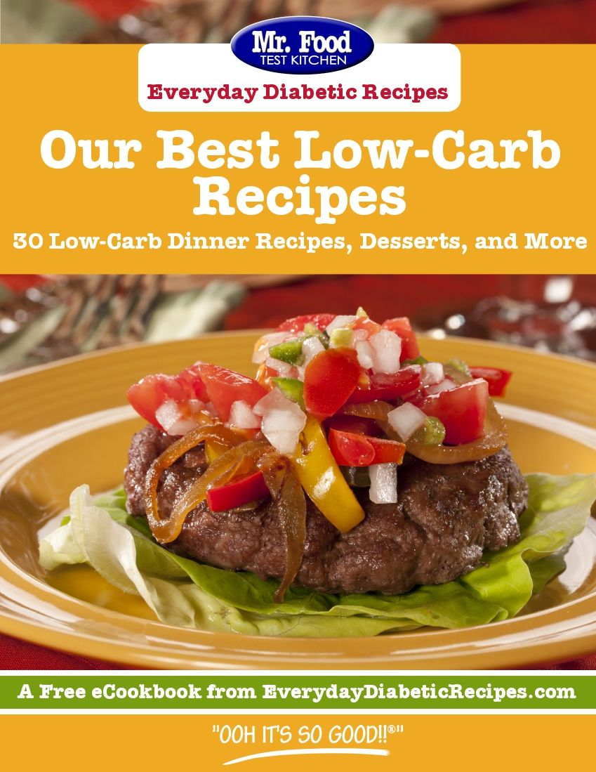 Our Best Low-Carb Recipes: 30 Low-Carb Dinner Recipes, Desserts, and