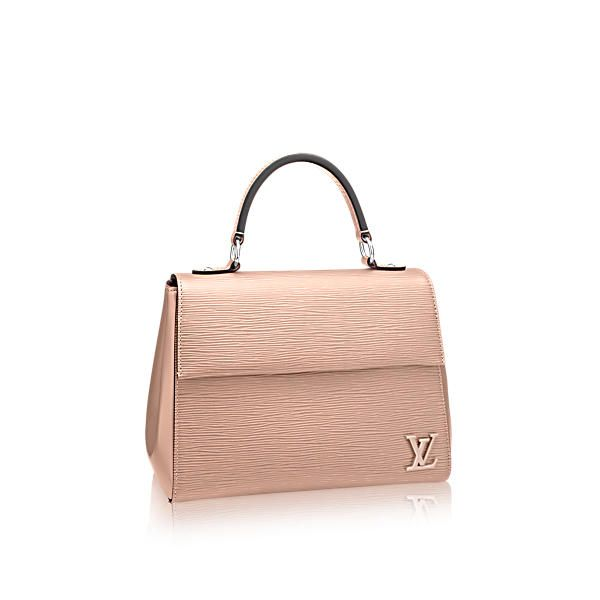 LOUIS VUITTON Cluny Bb.  louisvuitton  bags  shoulder bags  leather  lining   metallic   873f50a5792d8