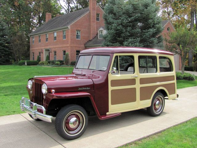 1947 Willys Overland Station Wagon Willys Willys Wagon