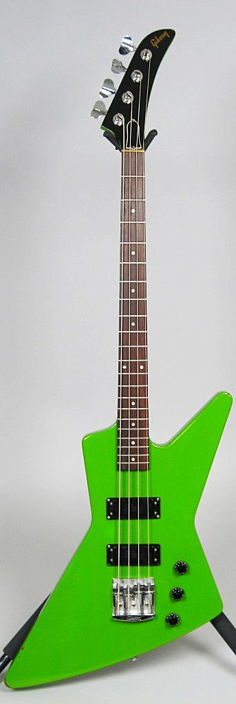 1985 Gibson Explorer Bass in Kawasaki Green