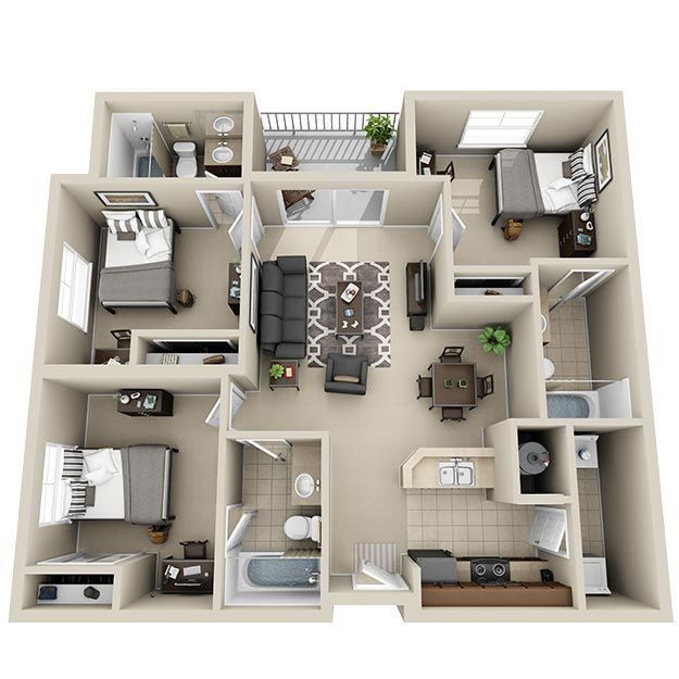 Pin Di Building S Layout S