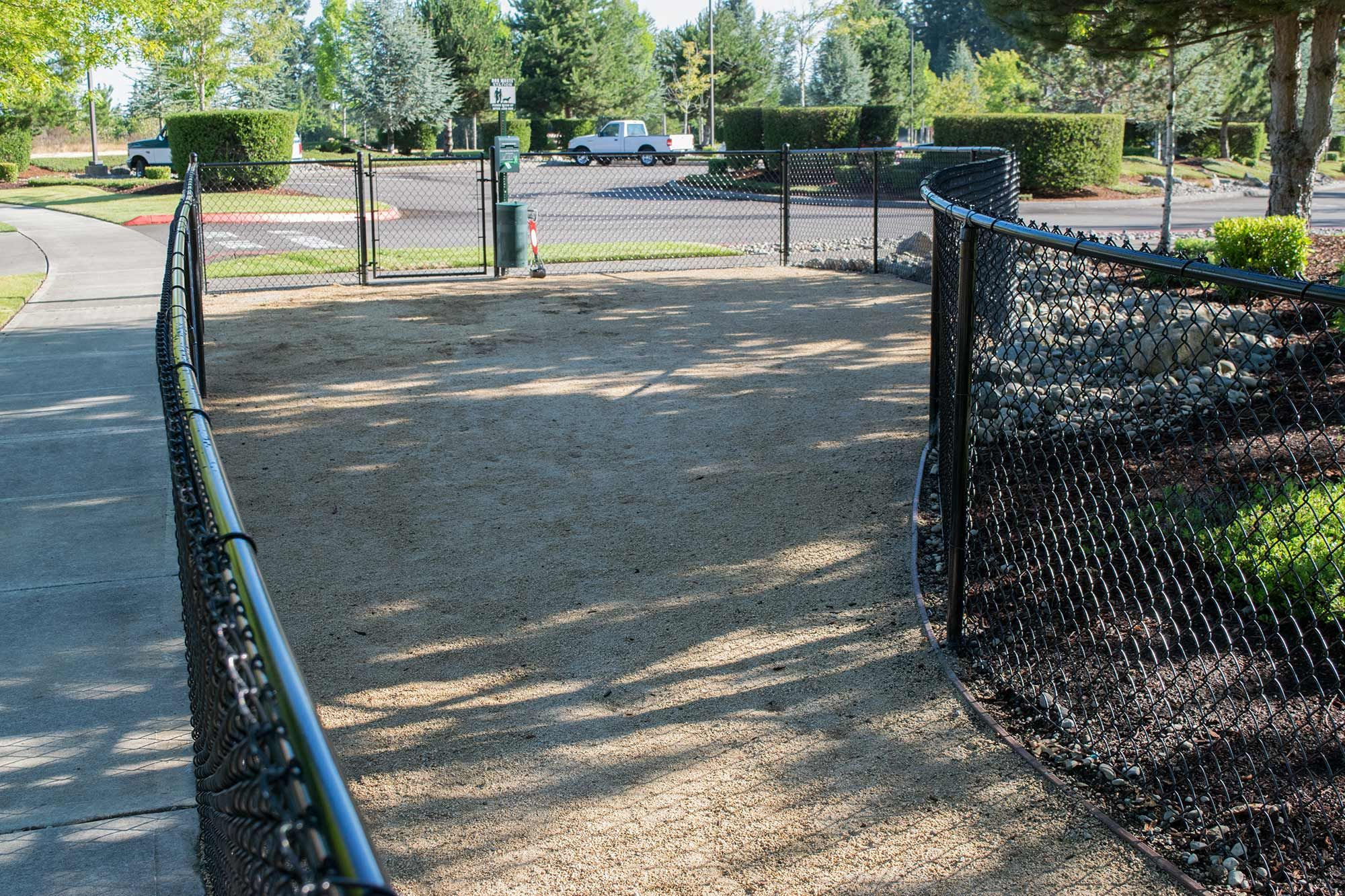 The Gr Dog Run Leads To A Potty Area Covered With Decomposed Granite This Material Is Easy Maintain Clean Up After And Soft On Dogs