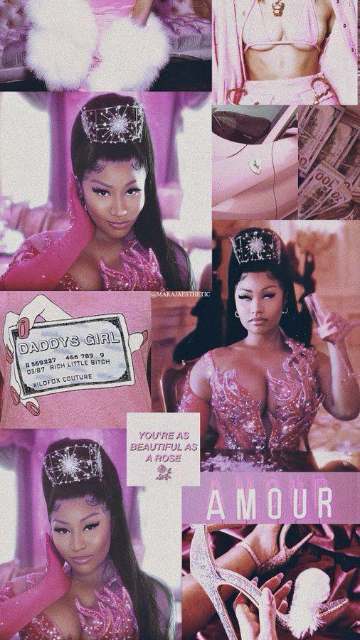Nicki Minaj Tusa Aesthetic Wallpaper Made by