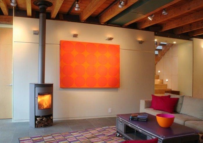 Wohnzimmer renovieren 100 unikale Ideen! - ideen fr schlafzimmer streichen