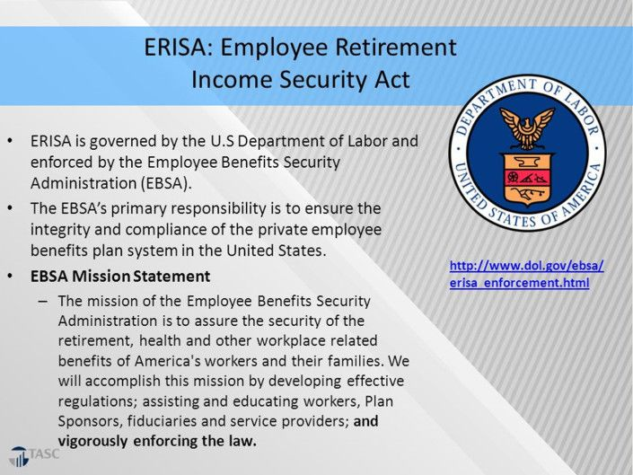 REPEAL PRWORA PROJECT - SAFEGUARD EMPLOYEE RETIREMENT ...