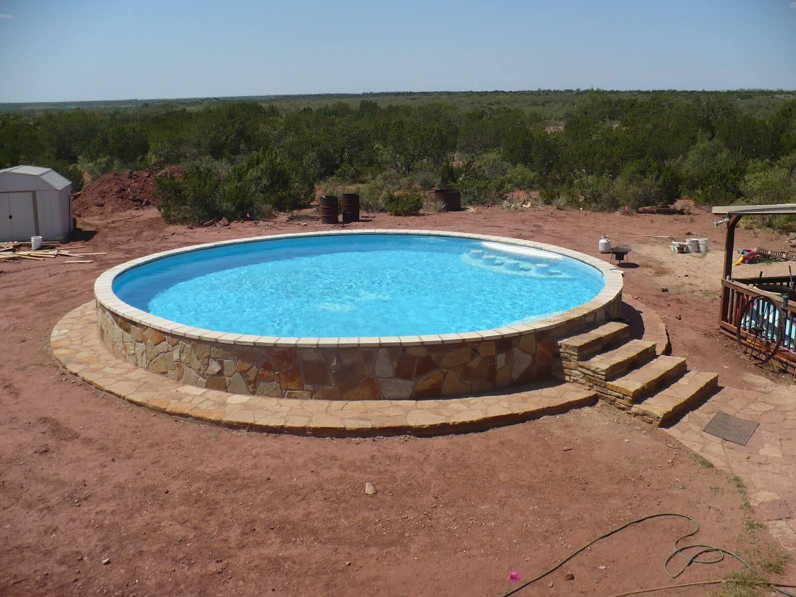 Stock Tank Pool With Wet Bar Stock Tank Swimming Pool Tank