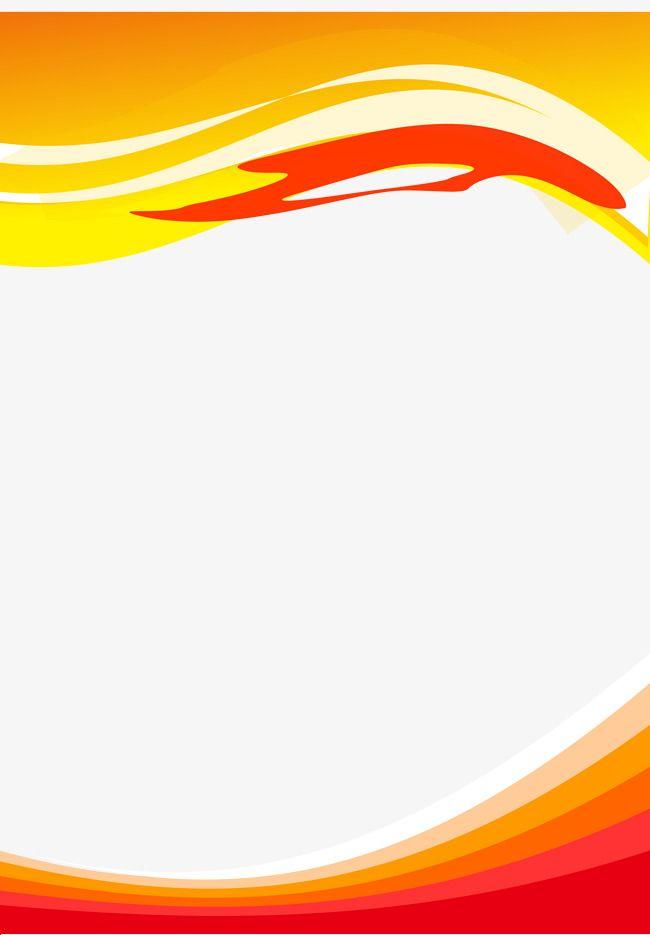 Orange Wave Plate Copywriter Vector And Png Powerpoint Background Design Photo Logo Design Poster Background Design