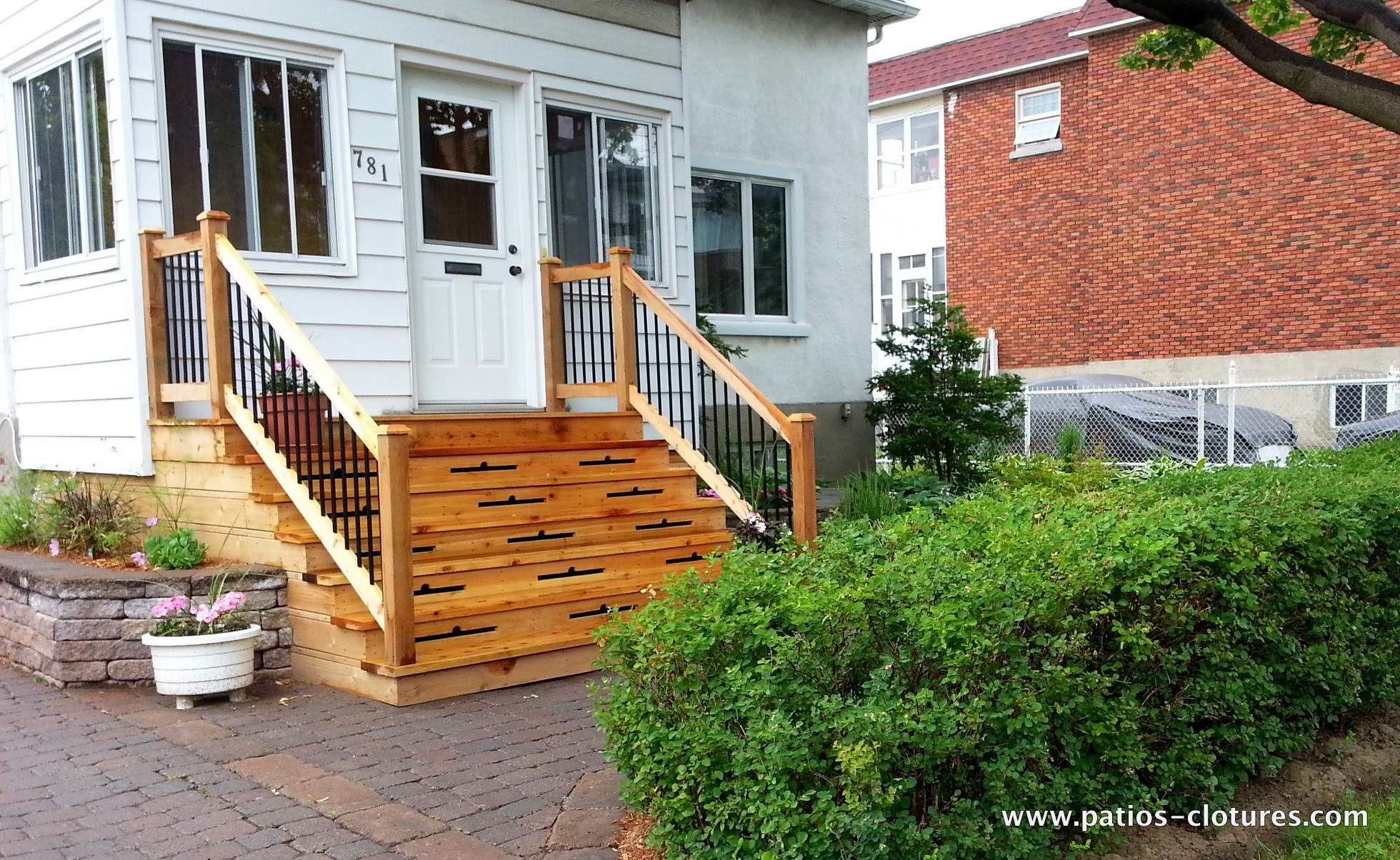 Design And Construction Of A Two Story Deck For A