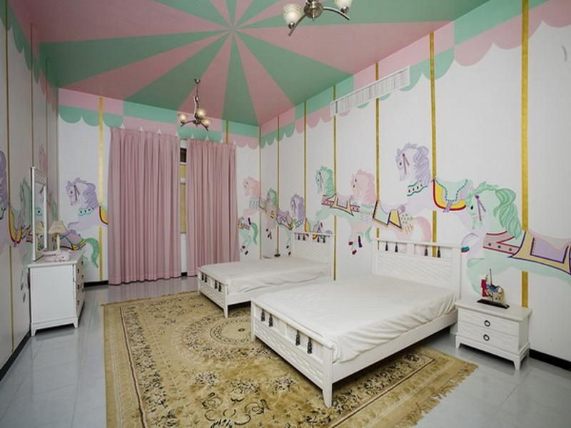 Girl Room Decorations | Ideas For Little Girl Rooms Cool Decorating Ideas