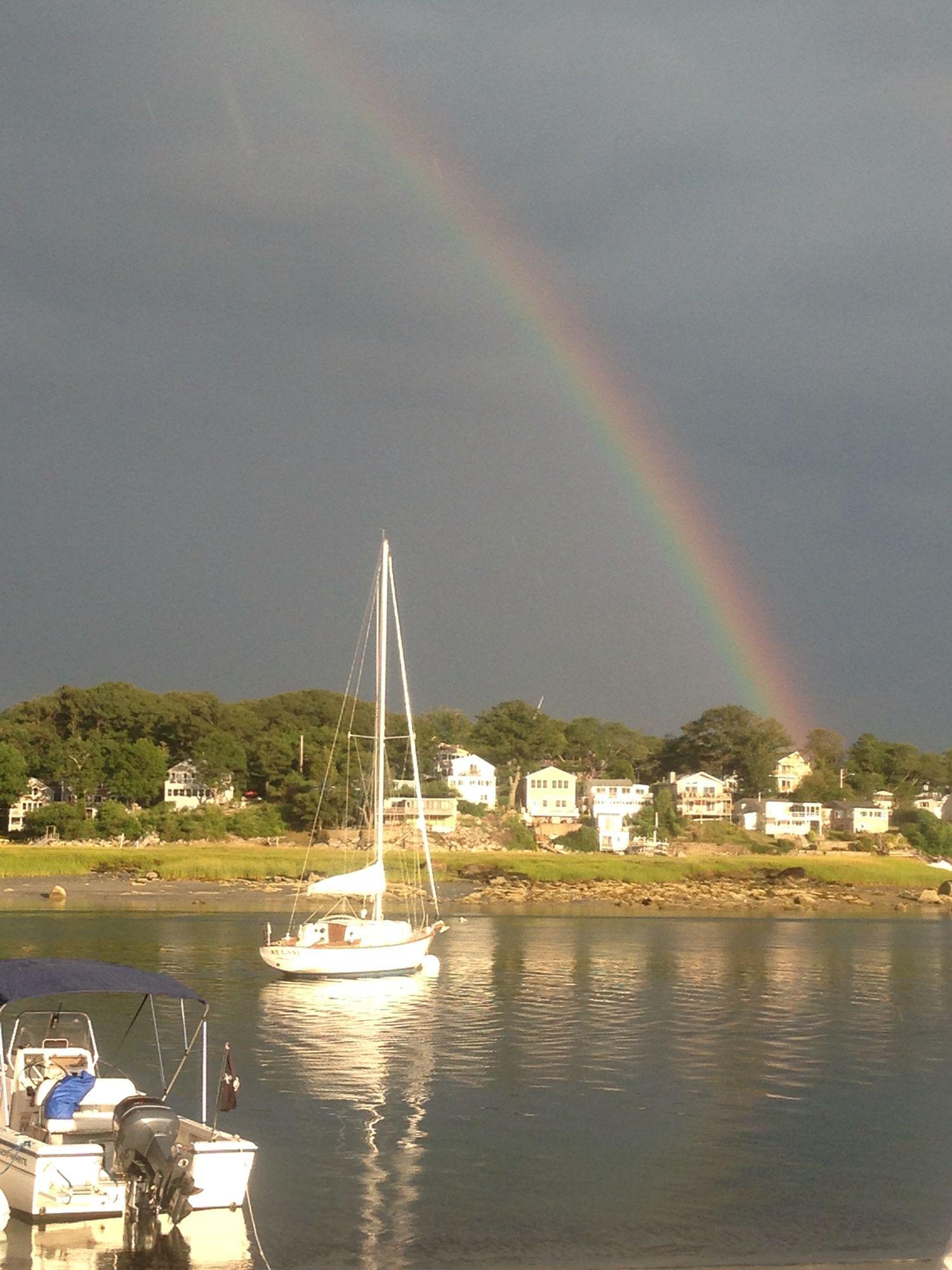 Wingaersheek beach rainbow