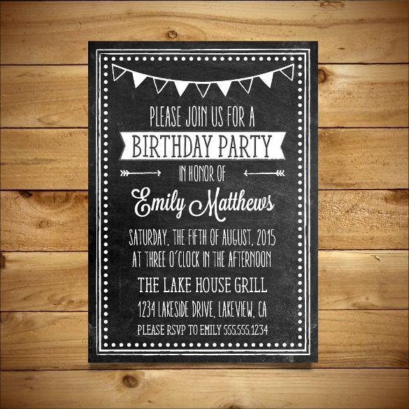 Editable-MS-Word-Birthday-Invitation-Templatejpg (585×585 - microsoft birthday invitation templates