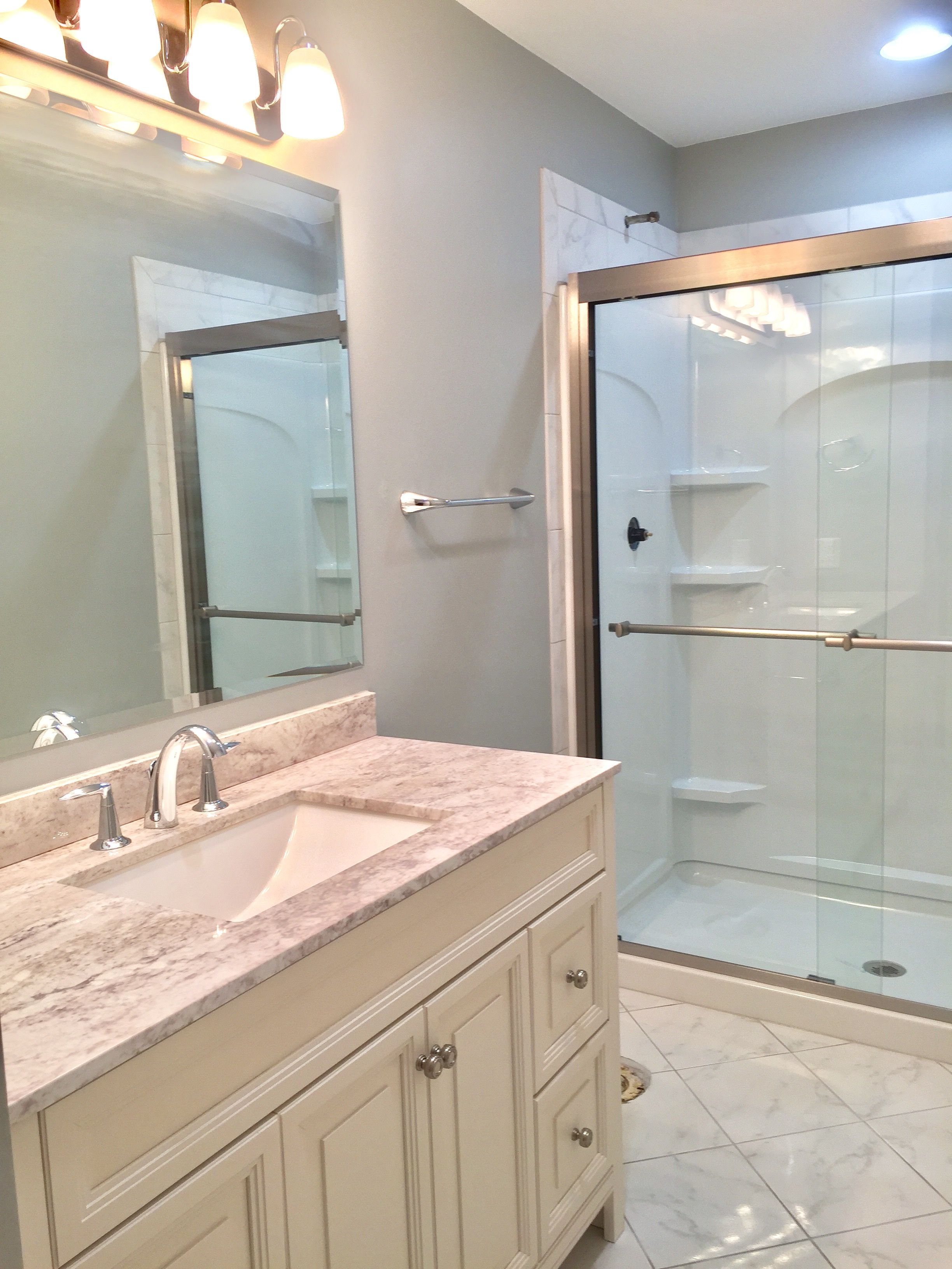 Another Bathroom Remodel By Buell Construction LLC Kenosha - Bathroom remodel kenosha