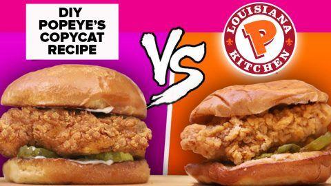 Popeye's Chicken Sandwich Recipe Copycat