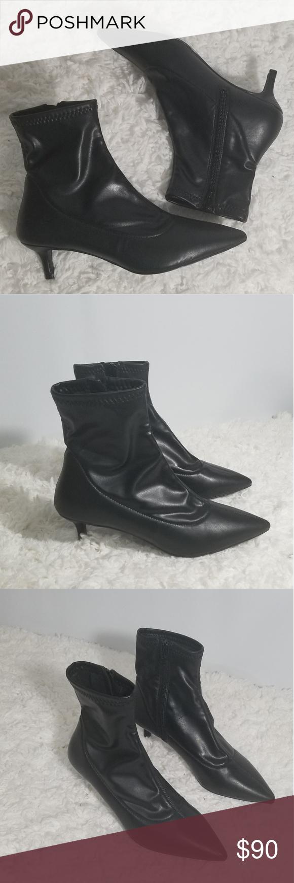 dce31aff694 Free People Marilyn Kitten Heel Black Size 36(us6) New without box Free  People Marilyn Kitten heel color black