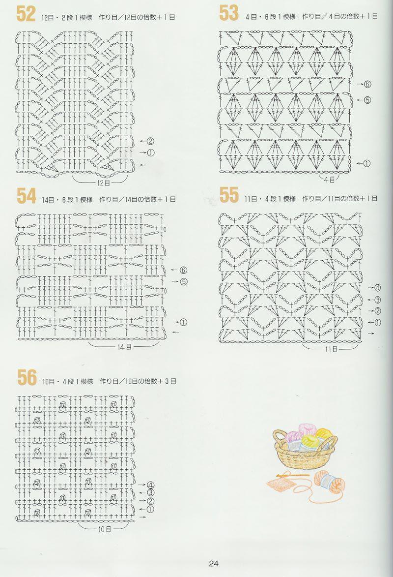 SOLO PUNTOS: CROCHET CALADOS   Gráficos de crochet.   Pinterest ...