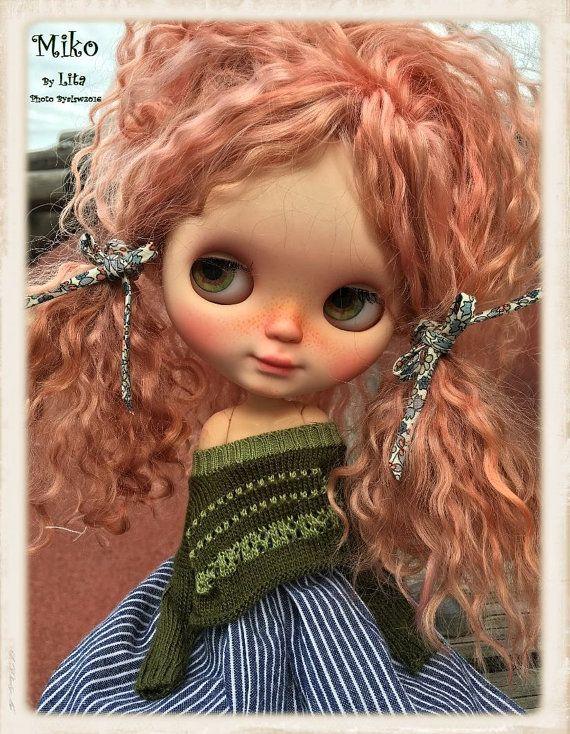 MiKO Ooak Custom Blythe Doll