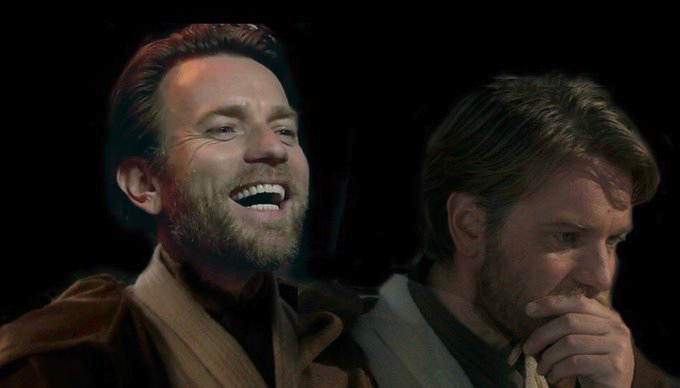 Jim Does A Star War On Twitter Star Wars Characters Pictures Star Wars Obi Wan Star Wars Humor