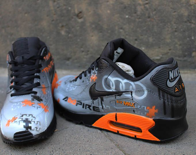 c7339036ae Fluorescent blue drippy nike air max 90 in 2019 | shoes | Nike air ...