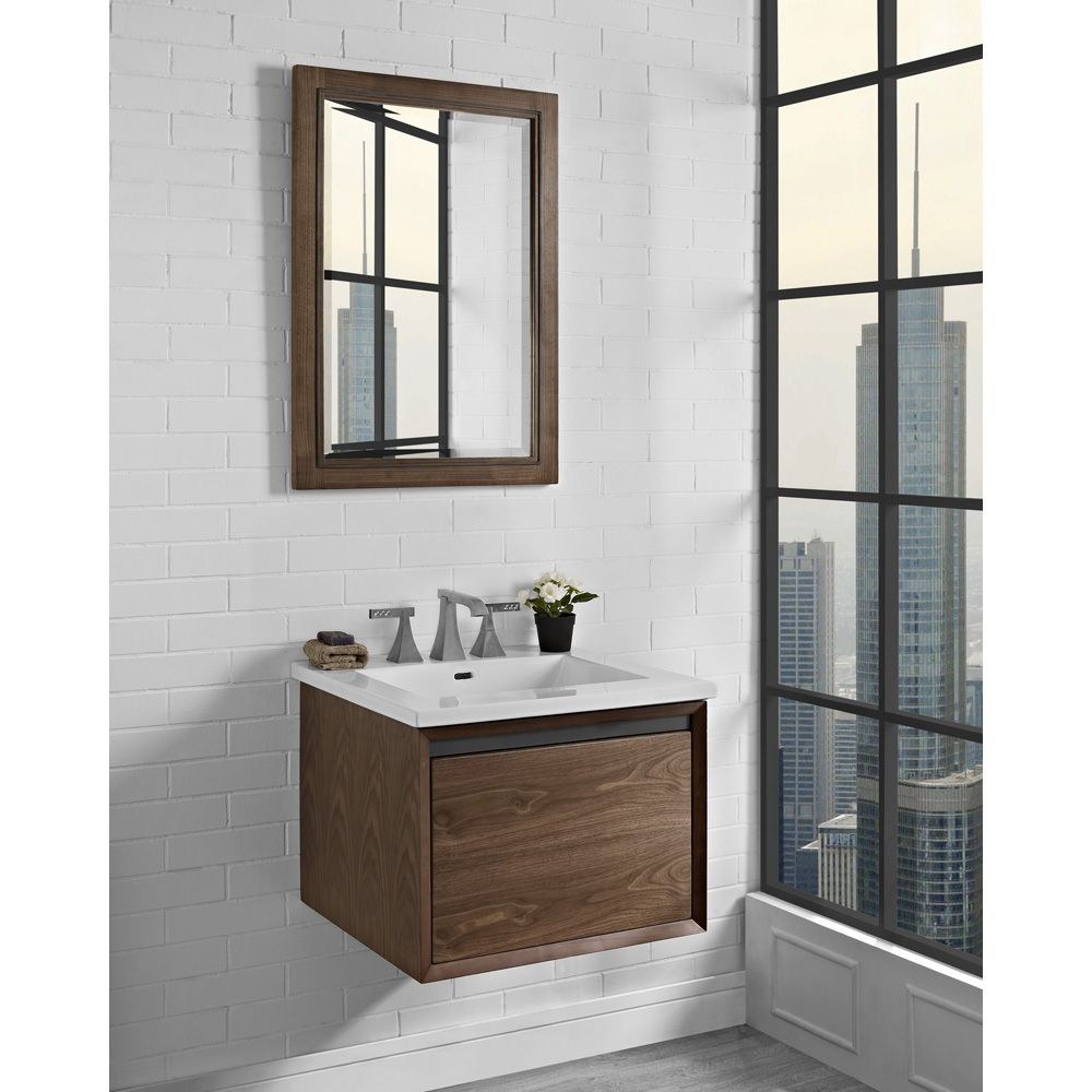 """Fairmont Designs M4 24"""" Wall Mount Vanity for Integrated"""
