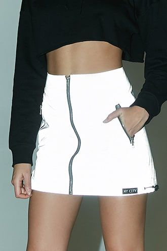 c8726229d9 NY City Patch Reflective Skirt | Products in 2019 | Fashion, Outfits ...