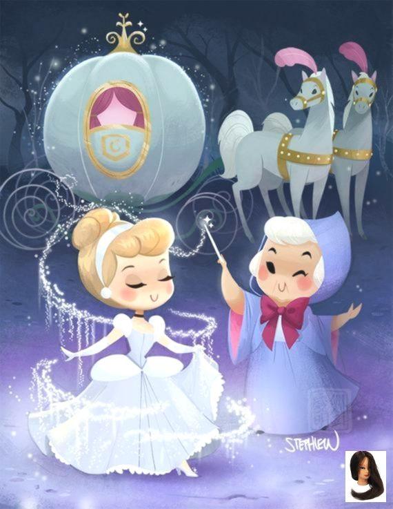 Cutie Glass Slipper Glass Slipper Cutie Kawaii Disney Disney Artwork Disney Cuties