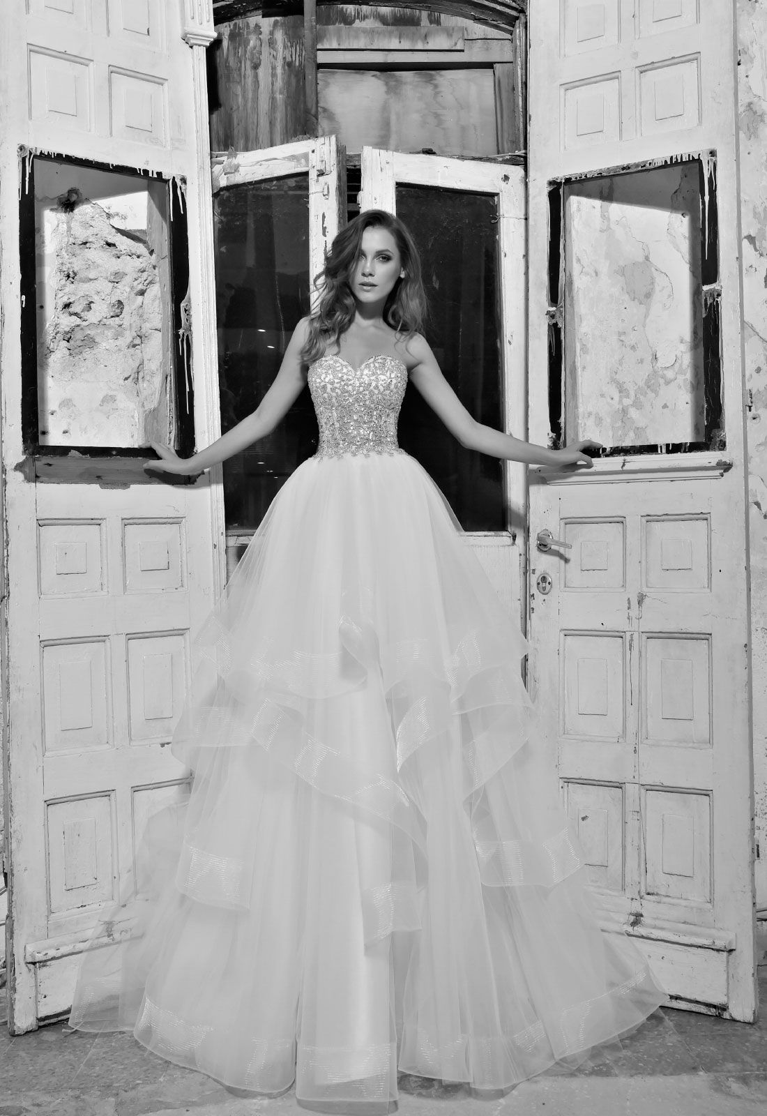 Style no. 14411 #pninatornai LOVE collection at #Kleinfeldbridal ...