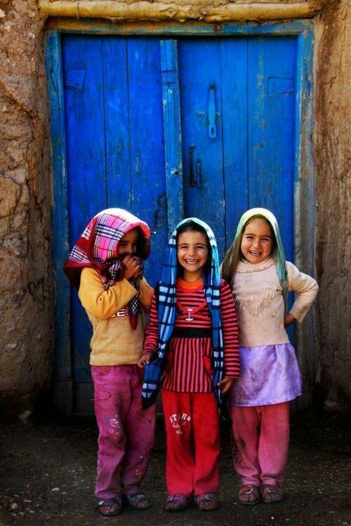 Iranian kids.