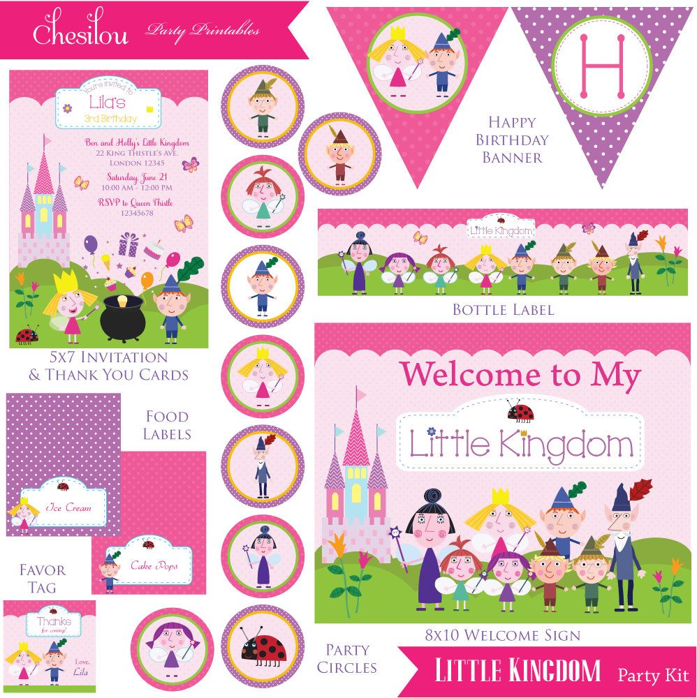 Customized Ben and Holly\'s Little Kingdom Digital by Chesilou ...