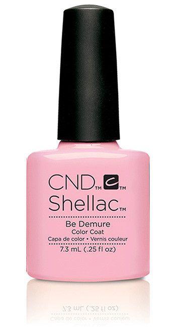 CND - Shellac Be Demure (0.25 oz)