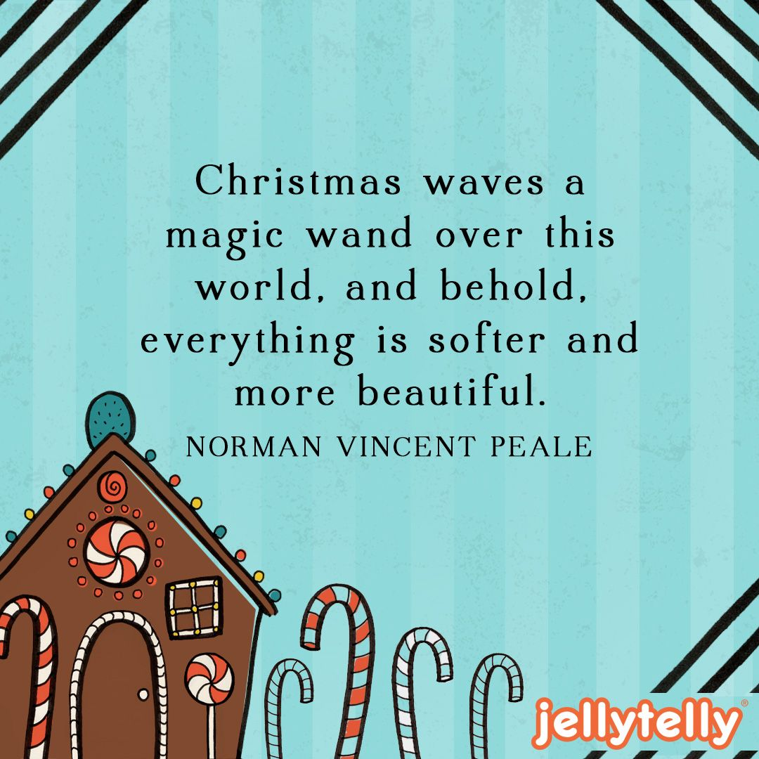 Norman Vincent Peale Beauty Of Christmas Quote Image Christmas