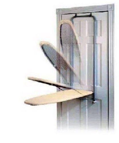 Folding Ironing Board Door Mounted Fold Away Hidden In Wall