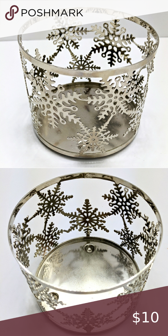 3 Wick Holiday Candle Holder