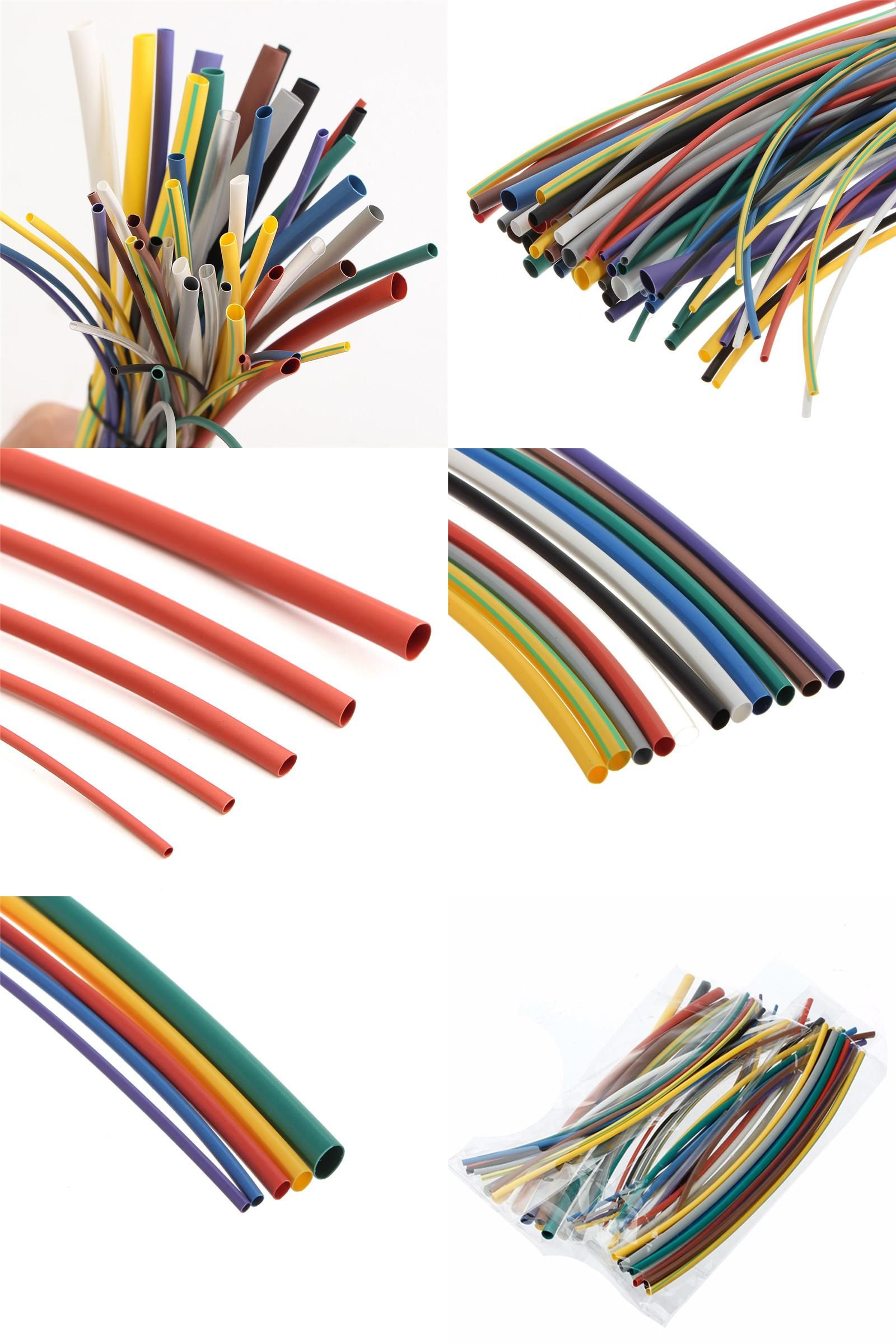 Visit to Buy] 55Pcs 200mm Heat Shrink Tube Sleeving Wrap Wire Auto ...