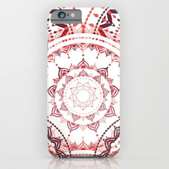 Floral abstract iPhone & iPod Case