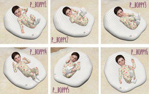 sims baby boppy pillow