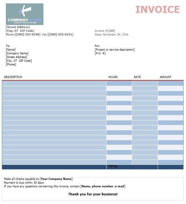 Web Design Invoice Template Stationary Templates Pinterest - web design invoice