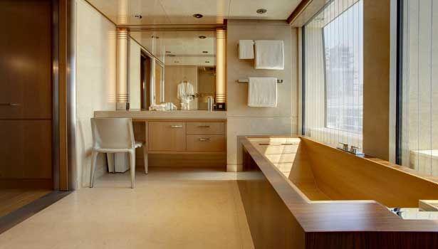 Musashi yacht bathroom luxury yachts yacht interior - Interior design license california ...