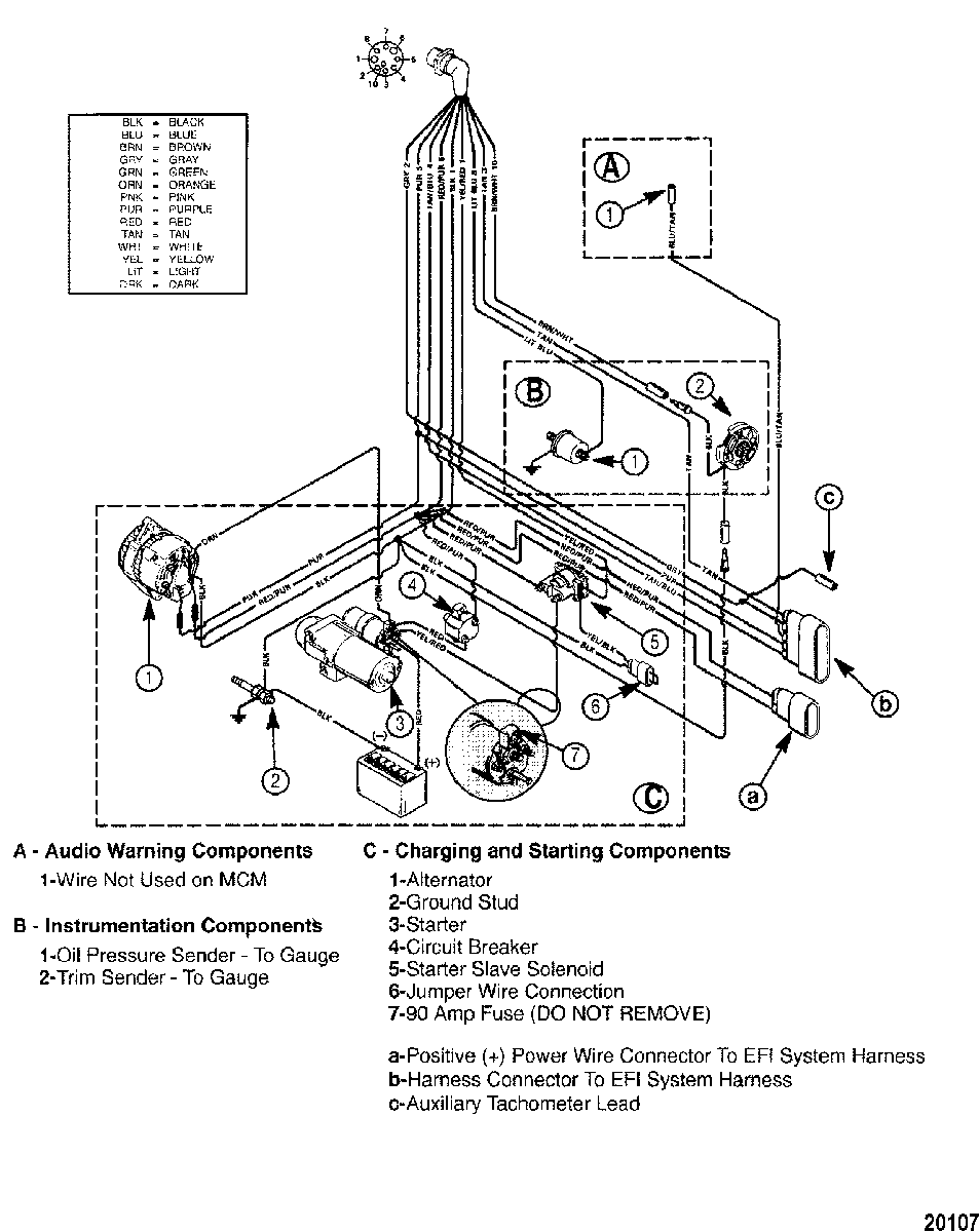 [DIAGRAM] Mercruiser 350 Mag Wiring Diagram FULL Version
