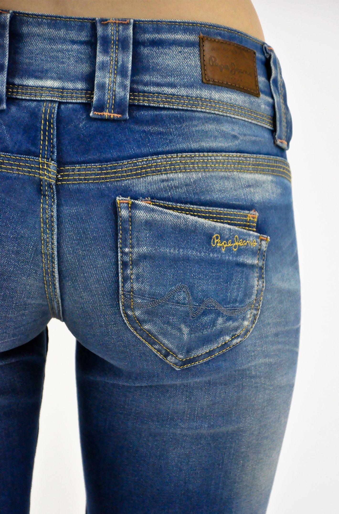 379118dabde Spodnie jeansowe damskie Pepe Jeans model Venus S23