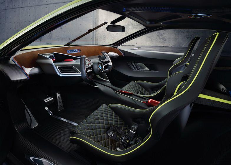 Bmw Reinterprets 1970s Racing Car As A Carbon Fibre Concept Car