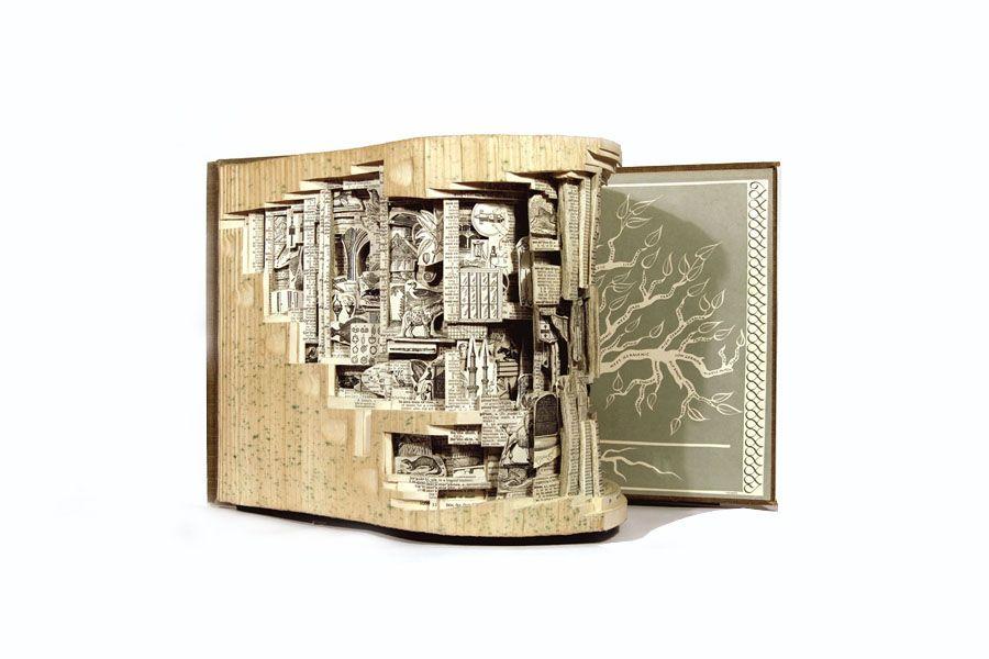 kunst aus b chern alte inhalte neu interpretiert. Black Bedroom Furniture Sets. Home Design Ideas