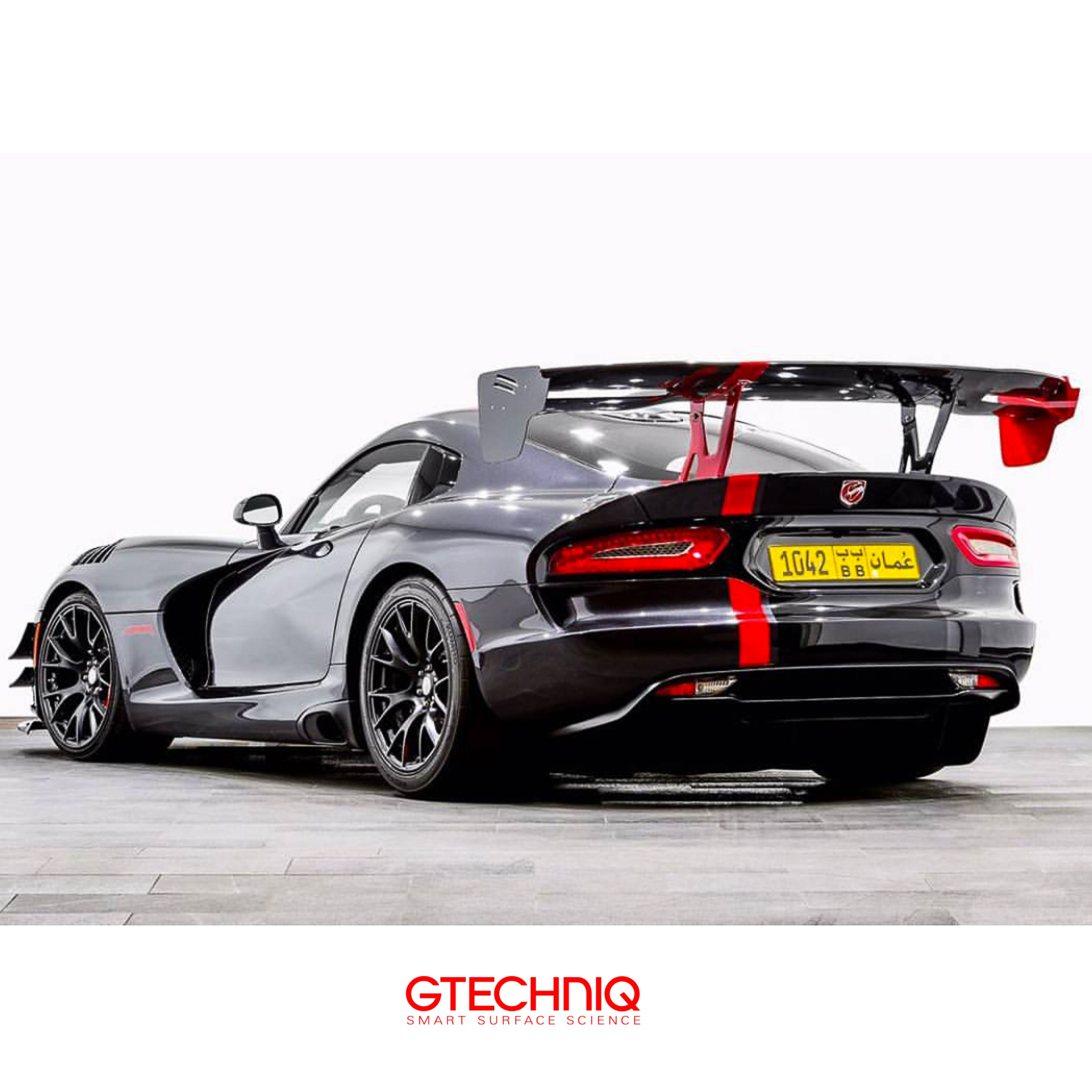 dodge viper acr protected by gtechniq and the only accredited detailer in oman autospa_oman protect