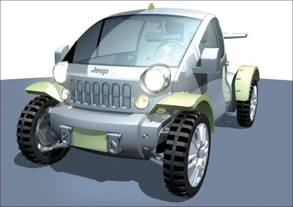 Treo Concept - Jeep